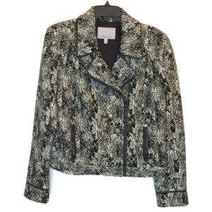Classiques Entier NEW Sz L Animal Jacquard Jacket